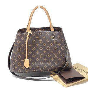 Louis Vuitton Montaigne MM Monogram Shoulder Bag